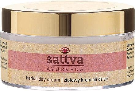 Дневен крем за лице с лечебни билки - Sattva Ayurveda Herbal Day Cream — снимка N2