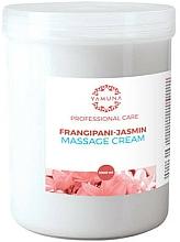 Парфюмерия и Козметика Масажен крем с плумерия и жасмин - Yamuna Massage Cream