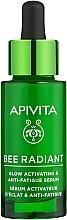 Изсветляващ хидратиращ серум за лице против стареене - Apivita Bee Radiant Glow Activating & Anti-Fatigue Serum — снимка N1