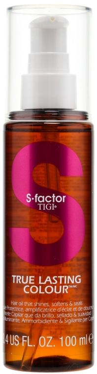 Масло за коса - Tigi True Lasting Colour Hair Oil — снимка N1
