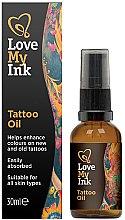 Парфюмерия и Козметика Масло-грижа за татуировки - Love My Ink Tattoo Oil