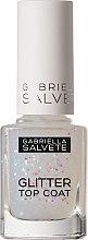 Парфюмерия и Козметика Топ лак за нокти - Gabriella Salvete Glitter Top Coat