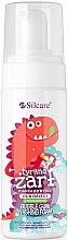 Парфюми, Парфюмерия, козметика Детска крем-пяна за баня - Silcare Bubble Gum Washing Foam for Kids