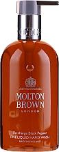 Парфюмерия и Козметика Molton Brown Black Peppercorn Fine Liquid Hand Wash - Крем-сапун за ръце