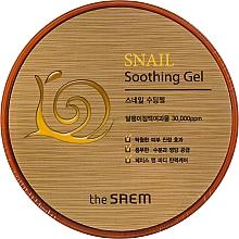 Парфюмерия и Козметика Успокояващ гел за лице с екстракт от охлюв - The Saem Snail Soothing Gel
