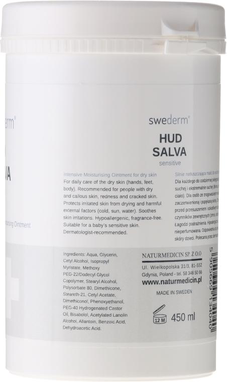 Хидратиращ крем за тяло - Swederm Hudsalva Sensitive — снимка N4