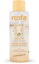 Парфюмерия и Козметика Детско масло за тяло с мед - Roofa Honey Oil