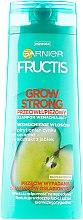 Парфюми, Парфюмерия, козметика Шампоан против пърхот - Garnier Fructis Grow Strong Shampoo