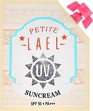 Парфюмерия и Козметика Слънцезащитен крем - Petite Lael UV Sun Cream SPF50+/PA+++ (мини)