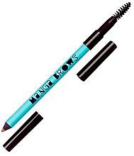 Парфюмерия и Козметика Двустранен молив за вежди - Neve Cosmetics Manga Brows
