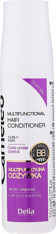 "Течен кератин ""Къдрици под контрол"" - Delia Cameleo Liquid Keratin Curly Hair"