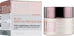 Парфюми, Парфюмерия, козметика Ревитализиращ изглаждащ нощен крем за лице - Lirene Lab Therapy Nourishment In-Chi Skin Nutrition 15%
