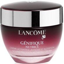 Парфюми, Парфюмерия, козметика Подмладяващ крем-активатор за суха кожа - Lancome Genifique Nutrics (тестер)