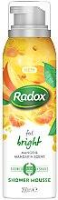 Парфюмерия и Козметика Мус за душ и бръснене - Radox Feel Bright Mango & Mandarin Scent Shower Mousse
