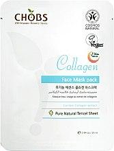 Парфюмерия и Козметика Укрепваща маска за лице с колаген - CHOBS Collagen Face Mask Pack