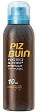 Парфюмерия и Козметика Освежаващ мус за слънце - Piz Buin Protect & Cool Refreshing Sun Mousse SPF10