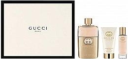 Парфюмерия и Козметика Gucci Guilty Pour Femme - Комплект (парф. вода/90ml+ лосион за тяло/50ml + парф. вода/15ml)