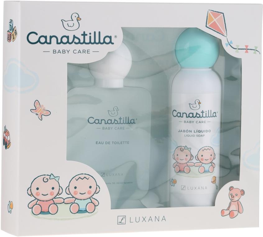 Luxana Canastilla - Комплект за деца (тоал. вода/100ml + сапун/150ml)