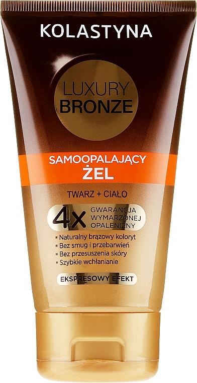 Гел-автобронзат за лице и тяло - Kolastyna Luxury Bronze Tanning Gel