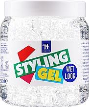 Парфюмерия и Козметика Оформящ гел за коса с мокър ефект - Hegron Styling Gel Wet Look