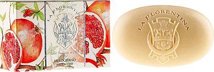 """Сапун """"Нар"""" - La Florentina Pomegranate Bath Soap — снимка N3"""