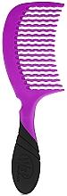Парфюмерия и Козметика Гребен за коса, лилав - Wet Brush Pro Detangling Comb Purple