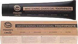 Парфюмерия и Козметика Натурална избелваща паста за зъби - Mohani Smile Whitening Charcoal Toothpaste