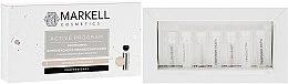 Парфюмерия и Козметика Комплексна програма за обновена кожа с мултиплодов пилинг - Markell Professional Active Program