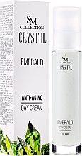 "Парфюми, Парфюмерия, козметика Дневен крем за лице ""Изумруд"" - Hristina Cosmetics SM Crystal"