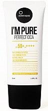 Парфюмерия и Козметика Слънцезащитен крем за чувствителна кожа - Suntique I'm Pure Perfect Cica SPF 50+ / PA +++