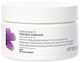 Парфюмерия и Козметика Маска за суха коса - Z. One Concept Simply Zen Restructure In Intensive Treatment