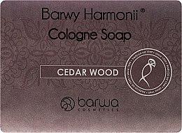 Парфюми, Парфюмерия, козметика Сапун с кедров екстракт - Barwa Harmony Cedar Wood Soap