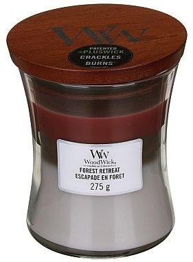Ароматна свещ в чаша - WoodWick Hourglass Trilogy Candle Forest Retreat — снимка N2