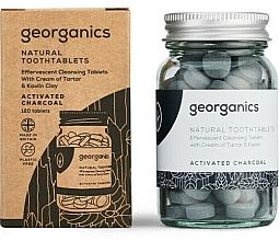 """Парфюмерия и Козметика Таблетки за почистване на зъби """"Активен въглен"""" - Georganics Natural Toothtablets Activated Charcoal"""