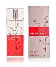 Парфюмерия и Козметика Armand Basi Sensual Red - Тоалетна вода