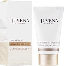 Парфюмерия и Козметика Регенериращ подхранващ крем за ръце - Juvena Skin Specialists Regenerating Hand Cream