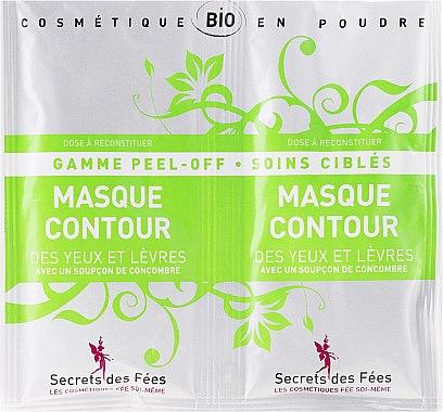 Освежаваща маска за околоочната зона - Secrets des Fees Mask — снимка N1