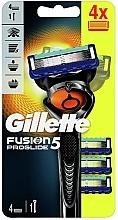 Парфюмерия и Козметика Самобръсначка с 4 сменяеми глави - Gillette Fusion5 ProGlide