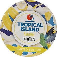 """Парфюмерия и Козметика Избелваща маска за лице """"Банан"""" - Marion Tropical Island Banana Jelly Mask"""