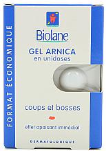 Парфюми, Парфюмерия, козметика Възстановяващ гел на основа Арника - Biolane Baby Gel Arnica Unidose