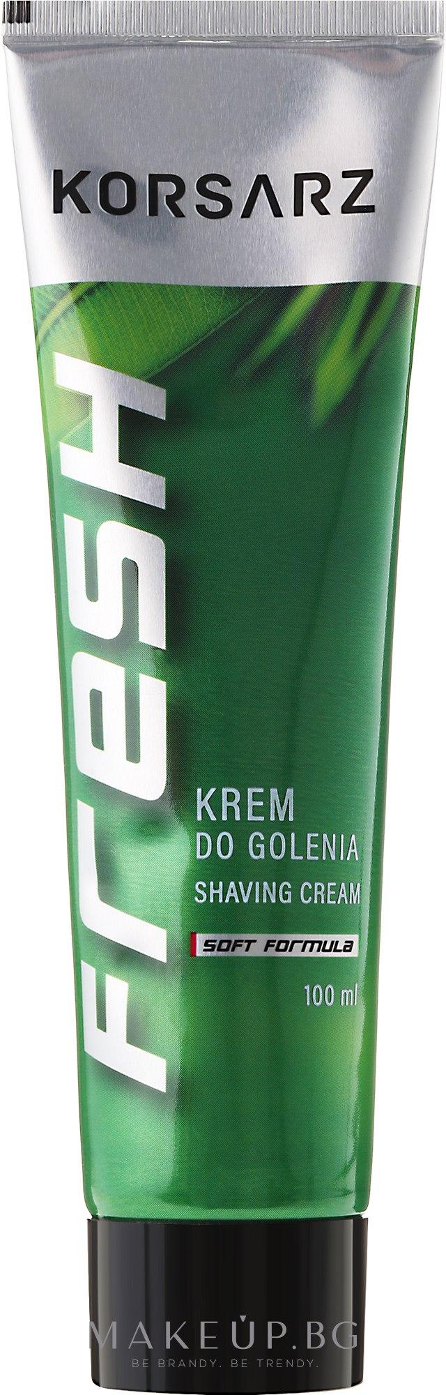 Крем за бръснене - Korsarz Shaving Cream — снимка 100 ml