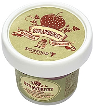Парфюмерия и Козметика Маска-скраб с ягода и черна захар - Skinfood Black Sugar Strawberry Mask Wash Off