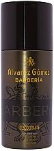 Парфюмерия и Козметика Alvarez Gomez Agua De Colonia Concentrada Barberia - Спрей дезодорант