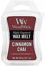 Парфюми, Парфюмерия, козметика Ароматен восък - WoodWick Wax Melt Cinnamon Chai