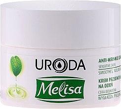 Парфюмерия и Козметика Дневен крем за лице против бръчки - Uroda Melisa Face Cream