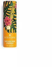 Парфюмерия и Козметика Скраб за устни със захарна тръстика - Orientana Sugarcane Energy