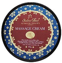 Парфюмерия и Козметика Масажен крем с екстракт от центела и алое вера - Sabai Thai Jasmine Aroma Massage Cream