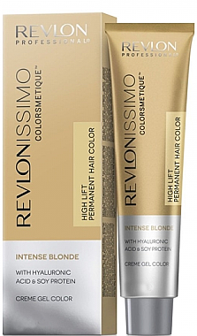 "Крем-боя за коса, оттенък ""Блонд"" - Revlon Professional Revlonissimo Colorsmetique Intense Blonde"