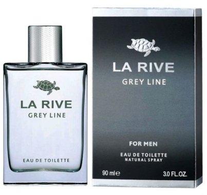 """Тоалетна вода """"Сива линия"""" - La Rive Grey Line"""