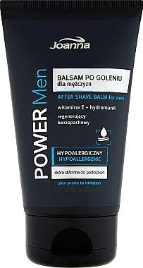 Хипоалергенен балсам за след бръснене с витамин Е - Joanna Power Men After Shave Balm — снимка N1